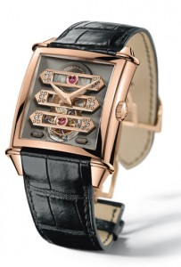 Girarad Perregaux Vintage 1945 Tourbillon with Three Gold Bridges